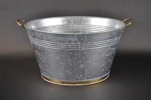 Oval Beverage Tub - Galvanized