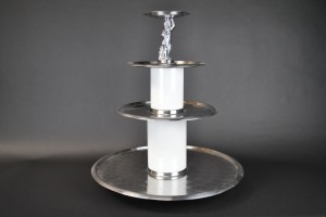 3 Tier Lazy Susan - Stainless
