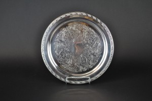 "Silver Tray - 10"" round"