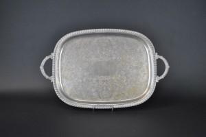 "Silver Tray - 13"" x 18"" Oval"