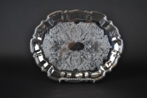 Silver Tray (footed)