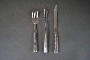 Carving Knife & Fork Set