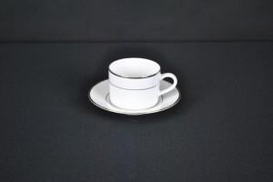 Gold Rim Cup & Saucer