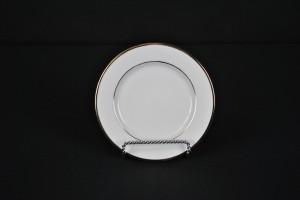 Gold Rim Dessert Plate