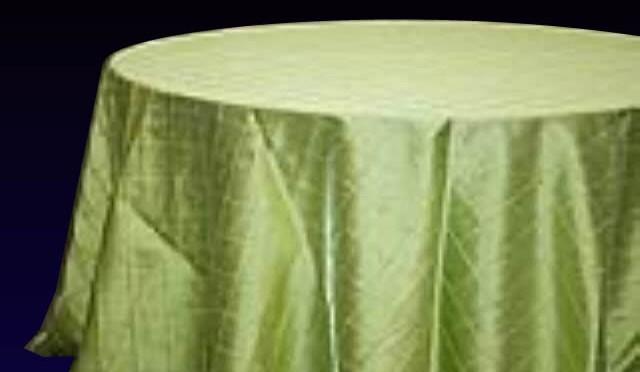Pintuck Apple Green