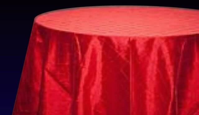 Pintuck China Red