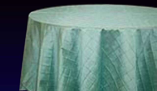 Pintuck Tiffany Blue