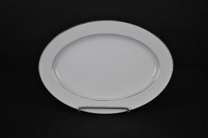 Silver Rim Platter - Large