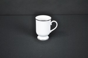 Silver Coffee Mug (option #1)