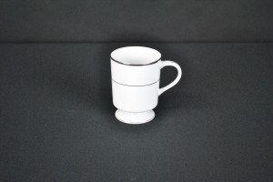 Silver Coffee Mug (option #2)