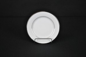 Silver-Rim-Dessert-Plate