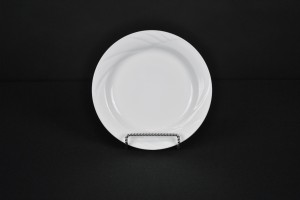 White Contemporary Salad Plate