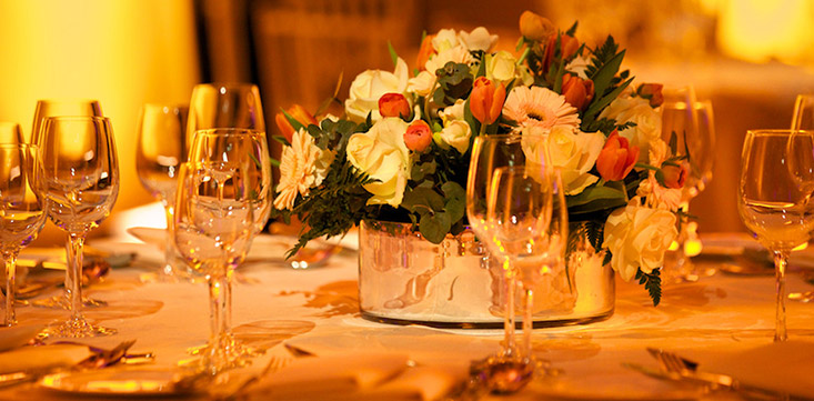 LA event rental tables