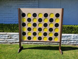 Giant Connect 4, backyard games